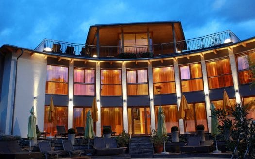 Außenansicht Hotel Eschenhof, Urlaub mit Hund