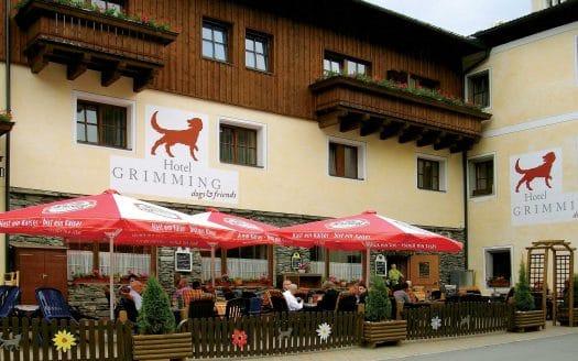 Gastgarten, Außenbereich, Zaun, hundefreundlich
