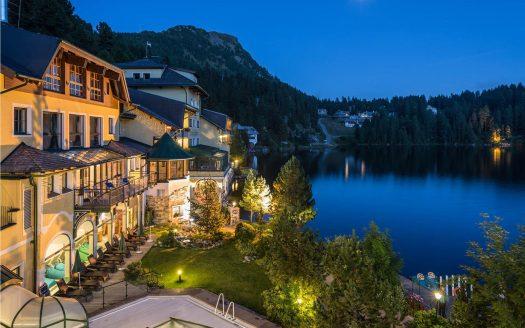 See, Seehotel Jägerwirt hundefreundlich, Garten, Außenanlage