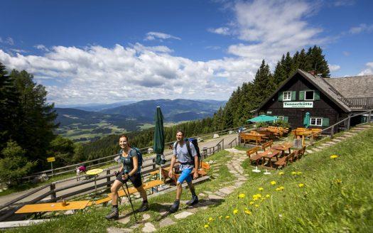 Ausblick, Sommer, Wiesen, Berge, Außenansicht