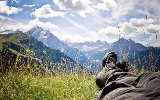 Österreichurlaub mit Hund, Aussicht, Ausblick, Berge, Entspannung