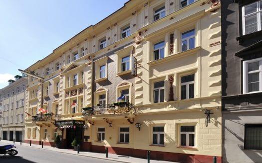 Außenansicht Hotel in der Stadt, Hotel Praterstern, Urlaub mit Hund in Wien