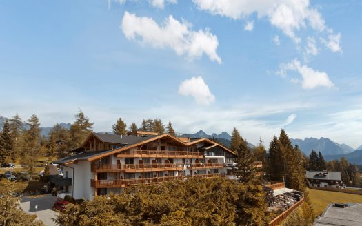 Natur & Spa Hotel Lärchenhof Seefeld, Aussenansicht