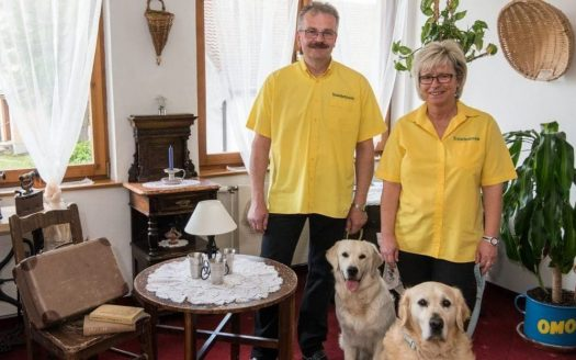 Familie mit Hunden, Genießergasthof Kutscherklause, Urlaub mit Hund in Österreich