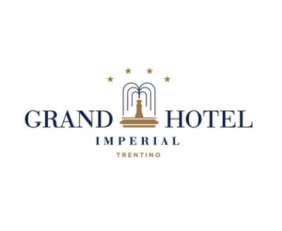 Grand Hotel Imperial, Logo Schrift mit Brunnen