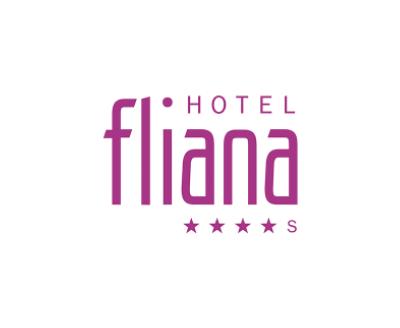 Hotel Fliana, Schrift violett