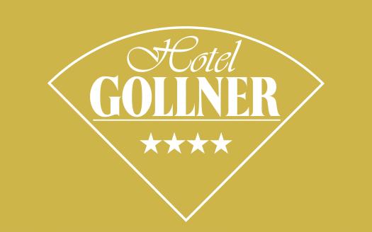 Hotel Gollner, 4 Sterne, weiß auf gold