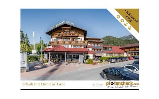 Angebot Hotel zum Gourmet, Pfotencheck, Urlaub mit Hund