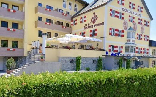 Hotel zum Lamm Außenansicht